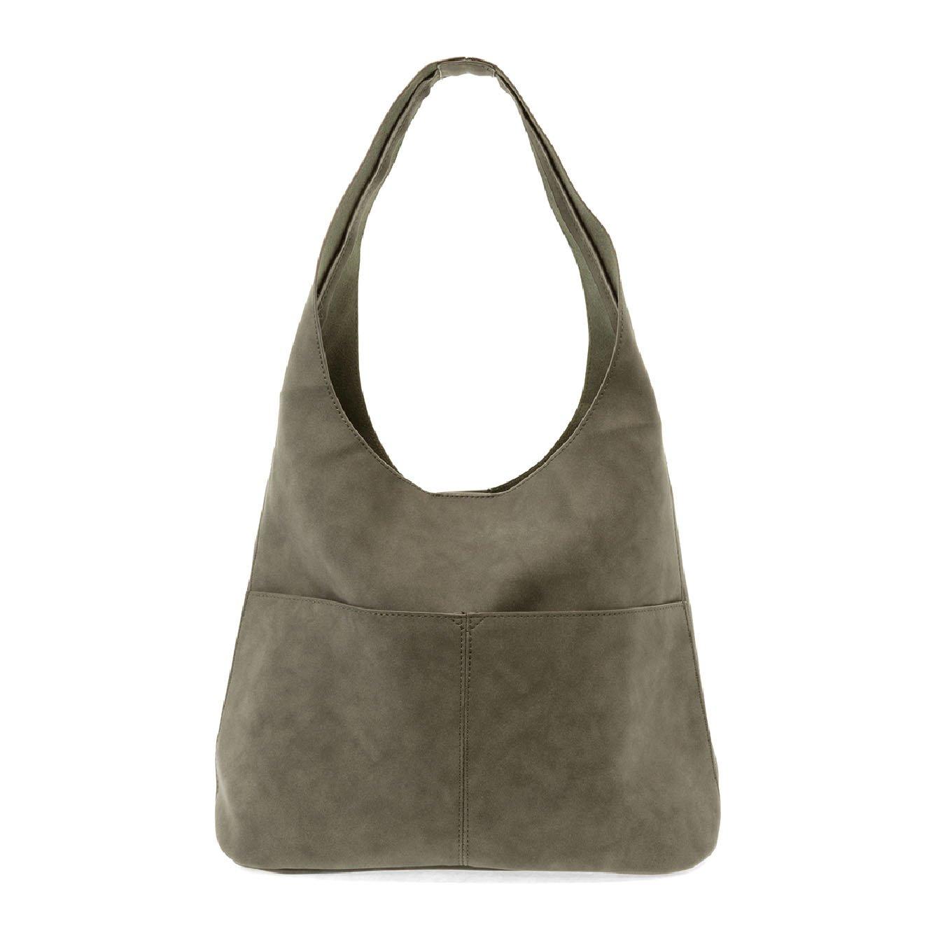 Sage Jenny Sueded Hobo Handbag