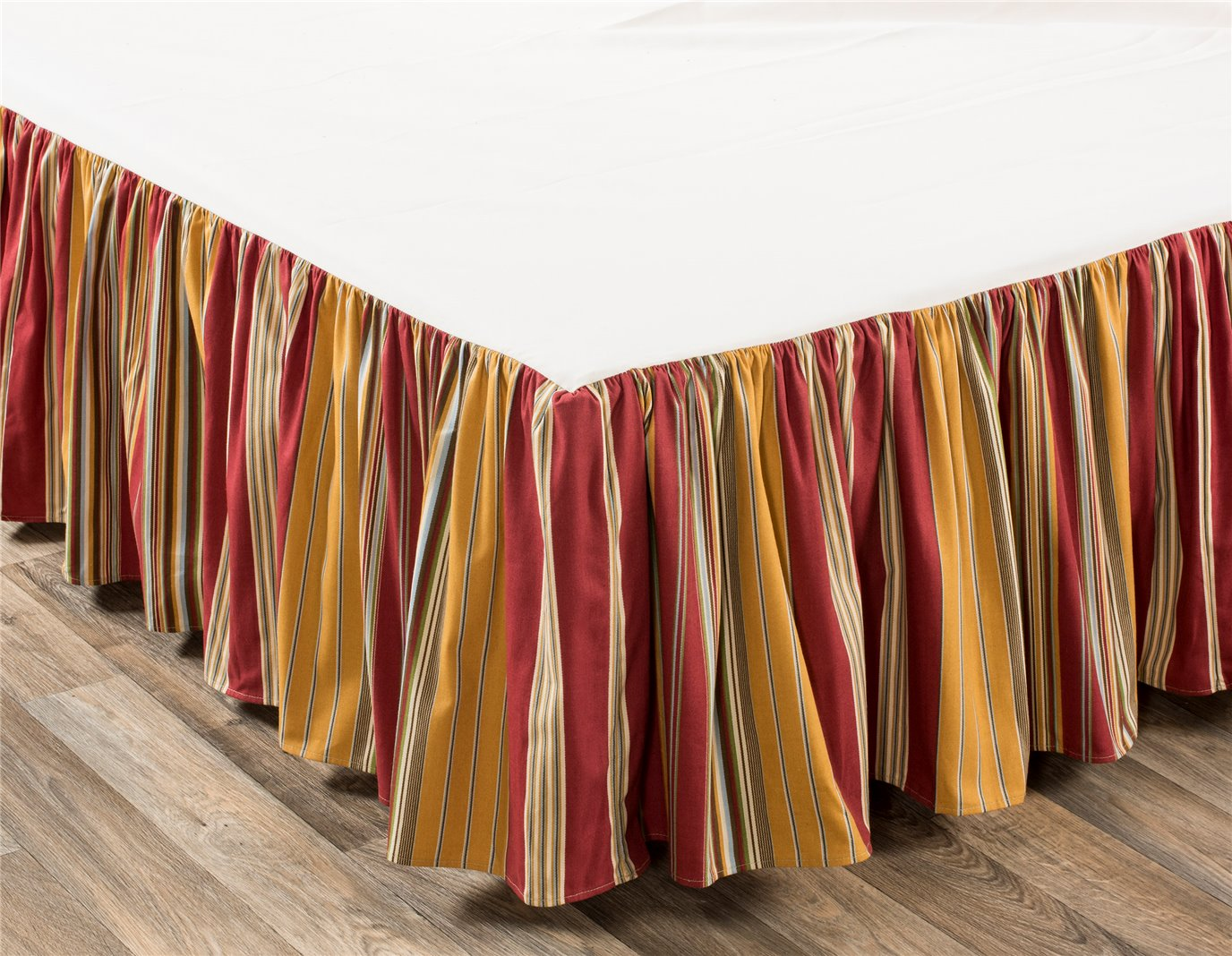 "Breeze Tapestry California King 15"" Drop Bedskirt"