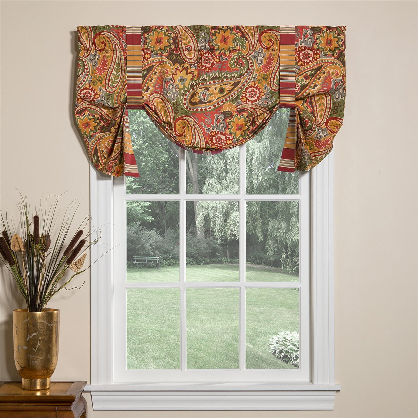 Breeze Tapestry Tie Up Curtain
