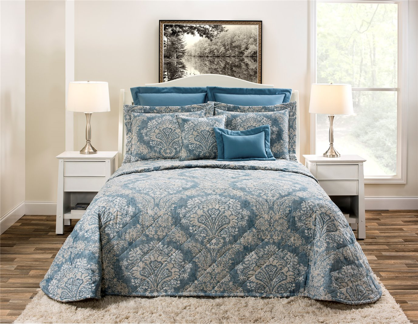Alexandra Denim California King Bedspread