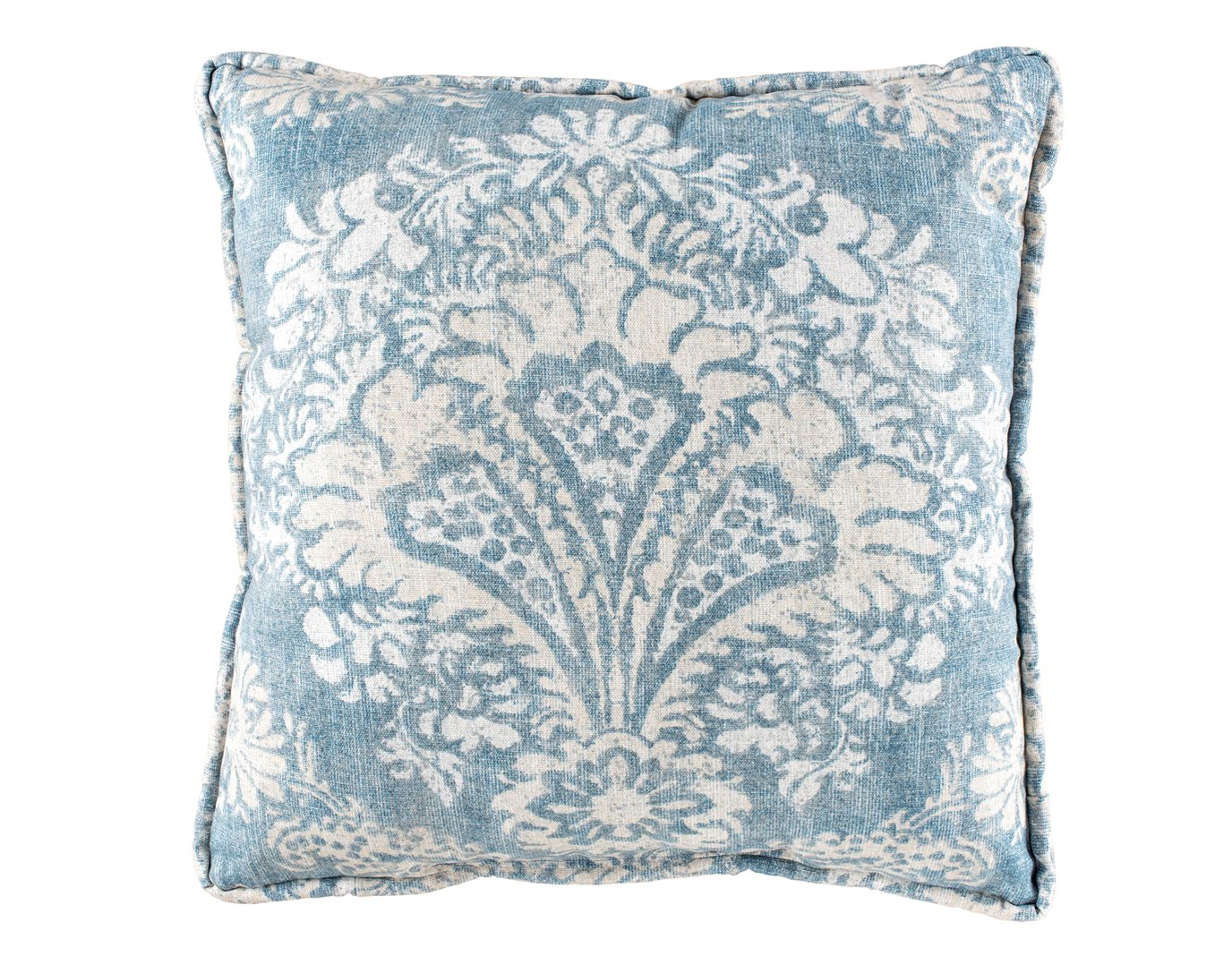Alexandra Denim Print Square Pillow