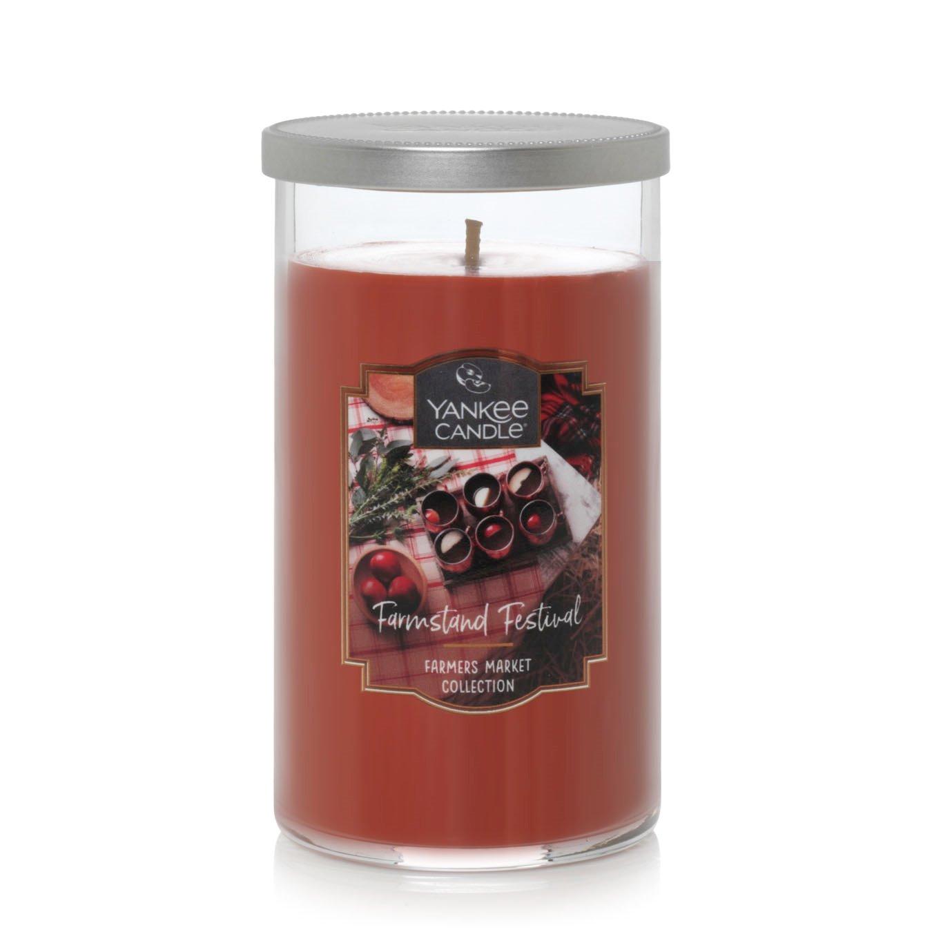 Yankee Candle Farmstand Festival Medium Perfect Pillar Candle
