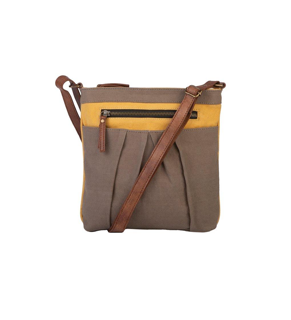 Mona B. Isla Crossbody Bag - Goldenrod