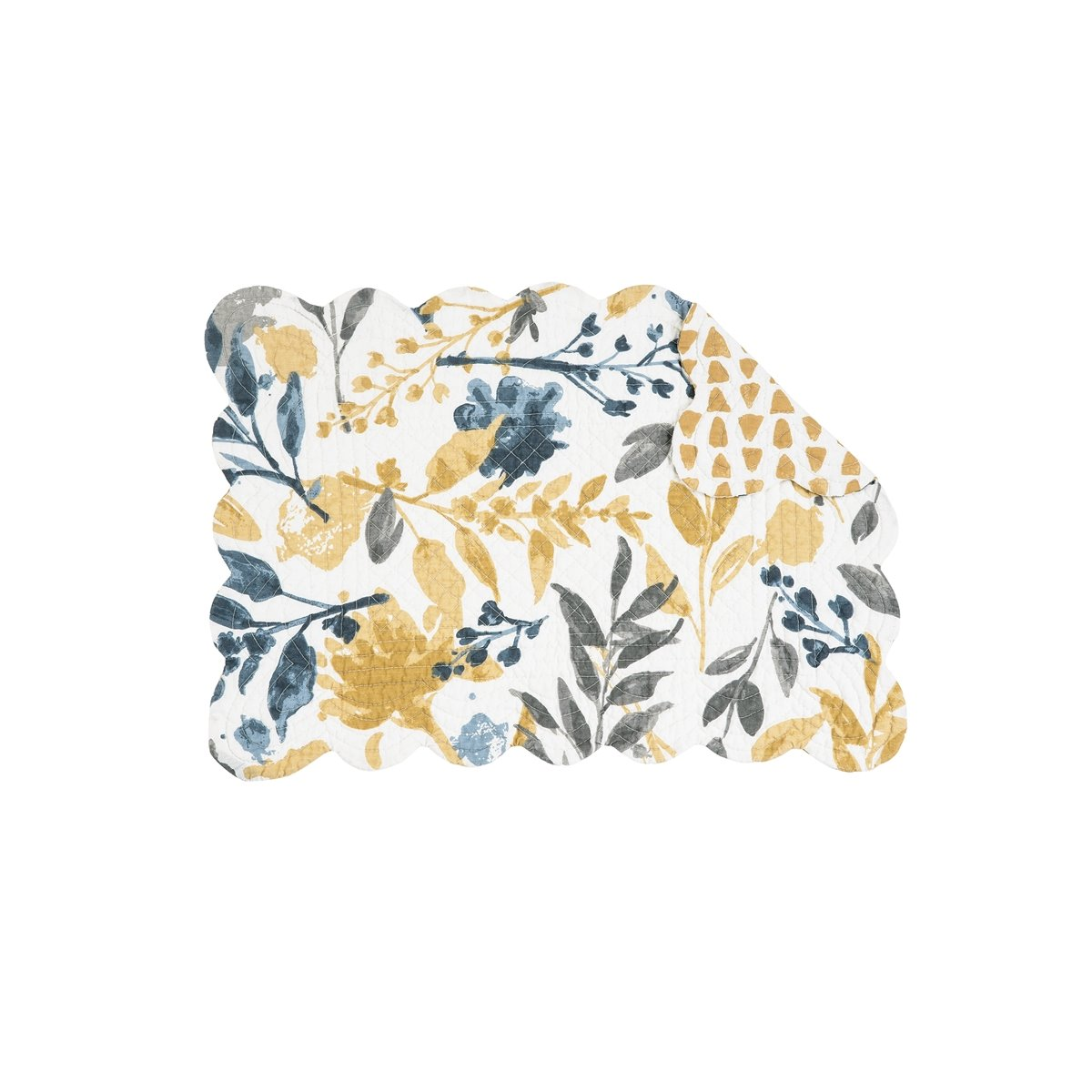 Natural Home Rectangular Quilted Placemat