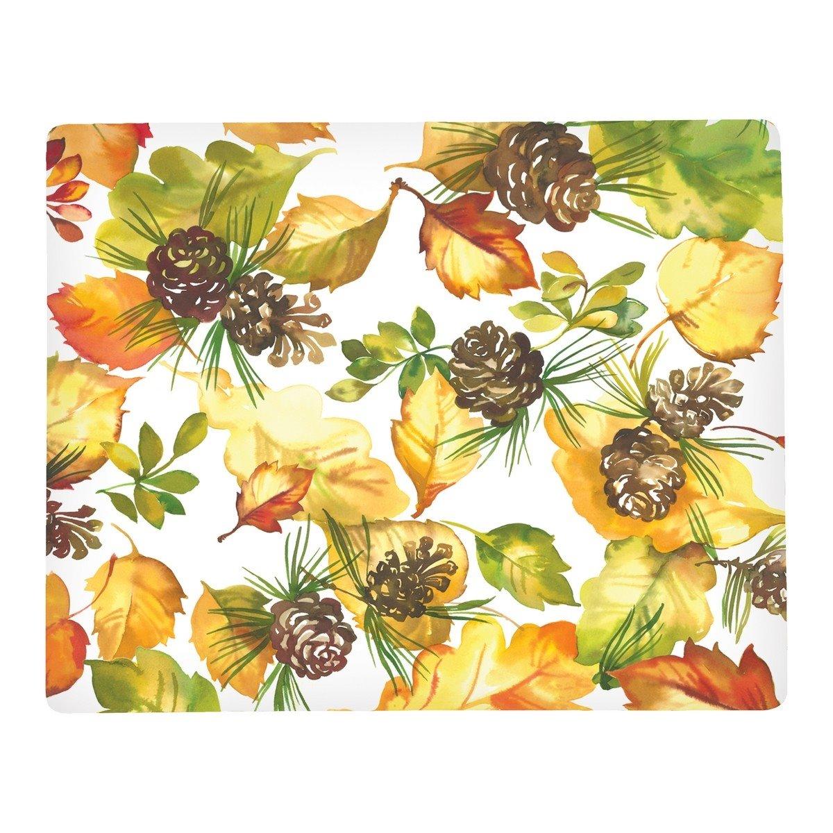 Fall Leaves Rectangular Hardboard Placemat