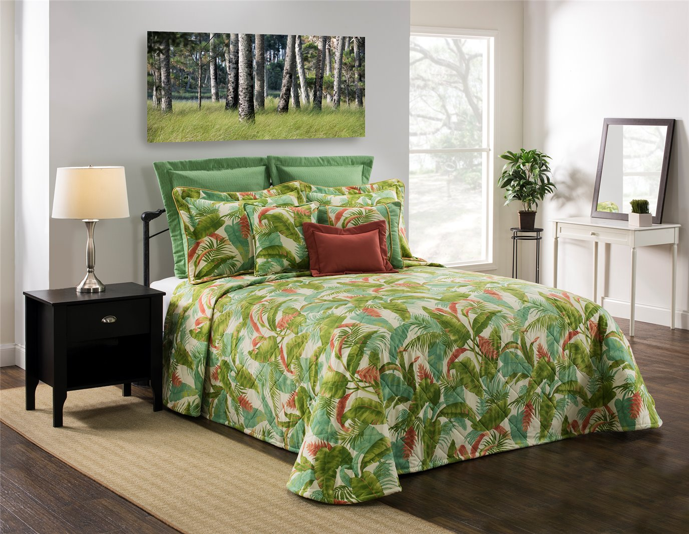 Cape Coral King Bedspread
