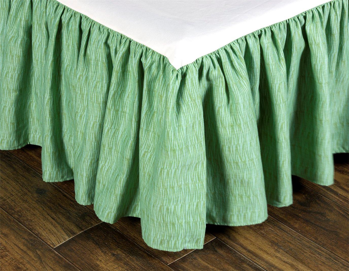 """Cape Coral Queen Bedskirt (15"""" Drop)"""