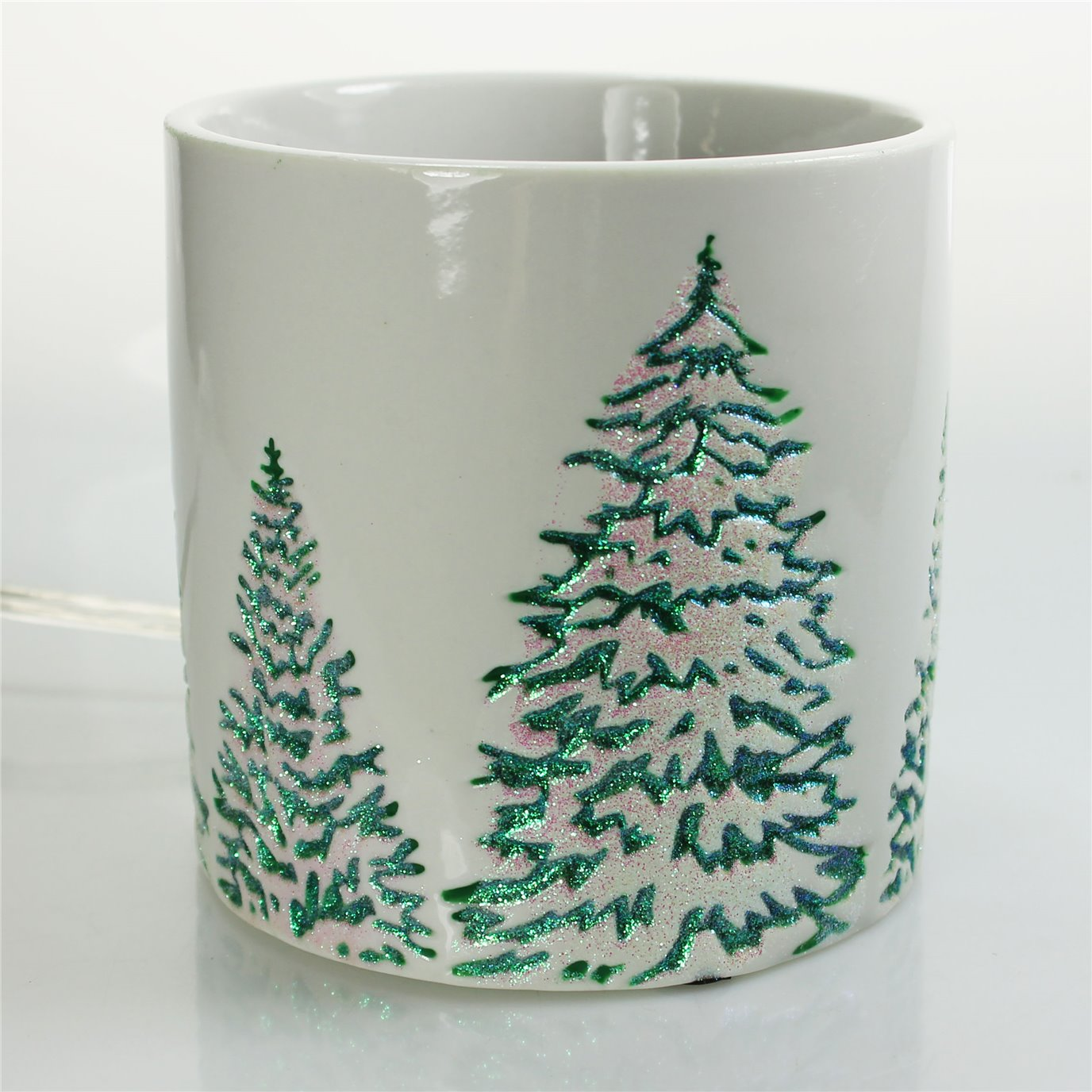 Yankee Candle Green Trees Scenterpiece Easy MeltCup Warmer
