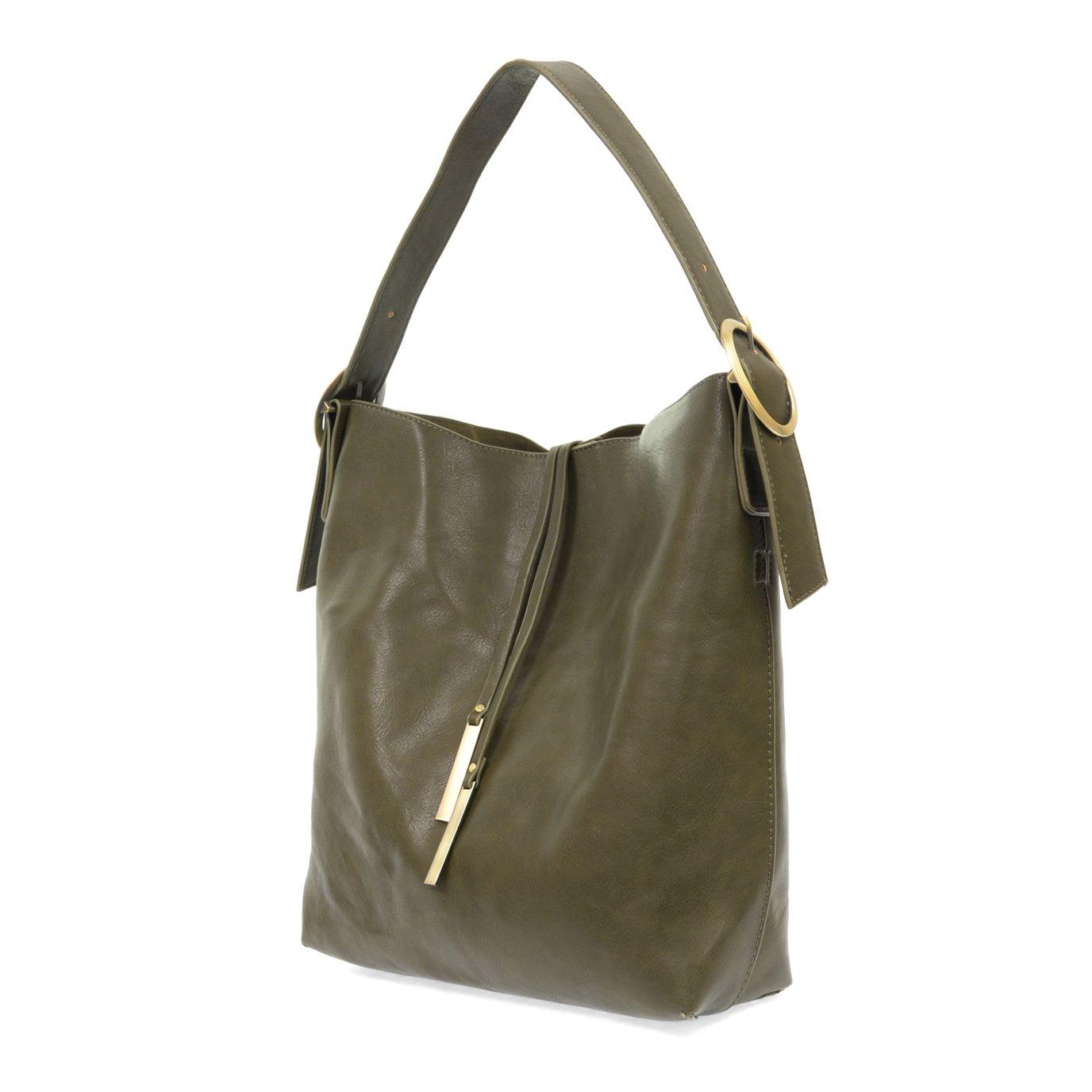 Olive Jillian Hobo Handbag with Tassel