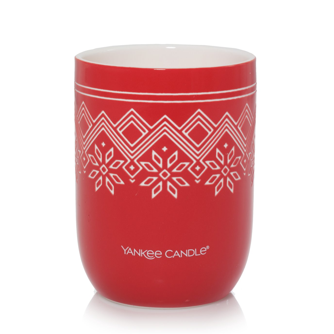 Yankee Candle Sparkling Cinnamon Nordic Design Ceramic Filled Candle