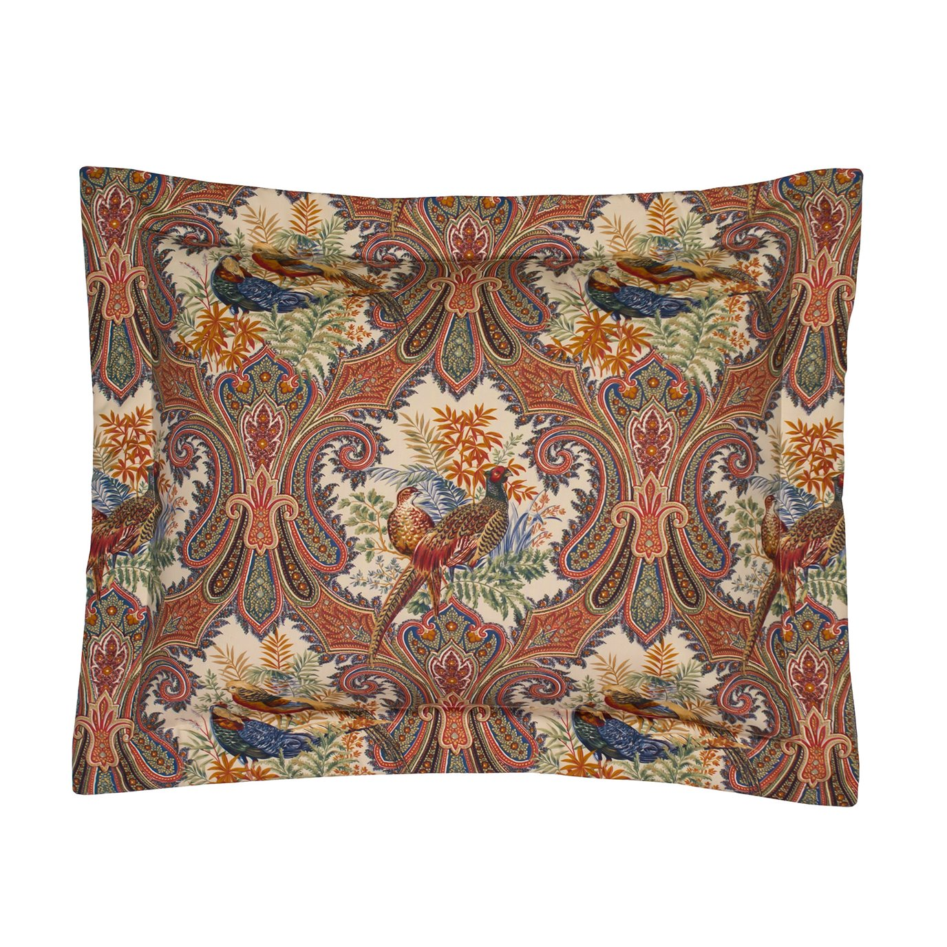 Royal Pheasant King Sham