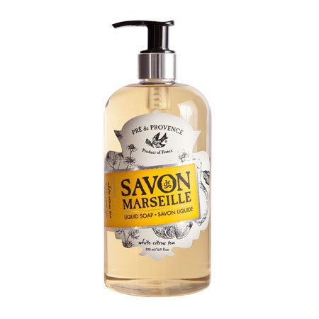 Pre de Provence White Citrus Tea Savon Marseille Liquid Soap