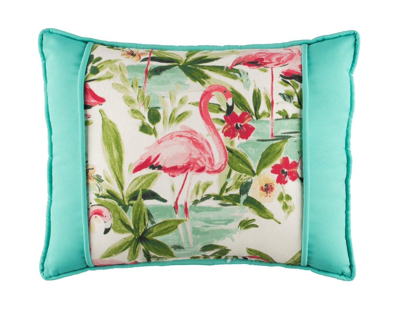 Floridian Flamingo Large Breakfast Pillow