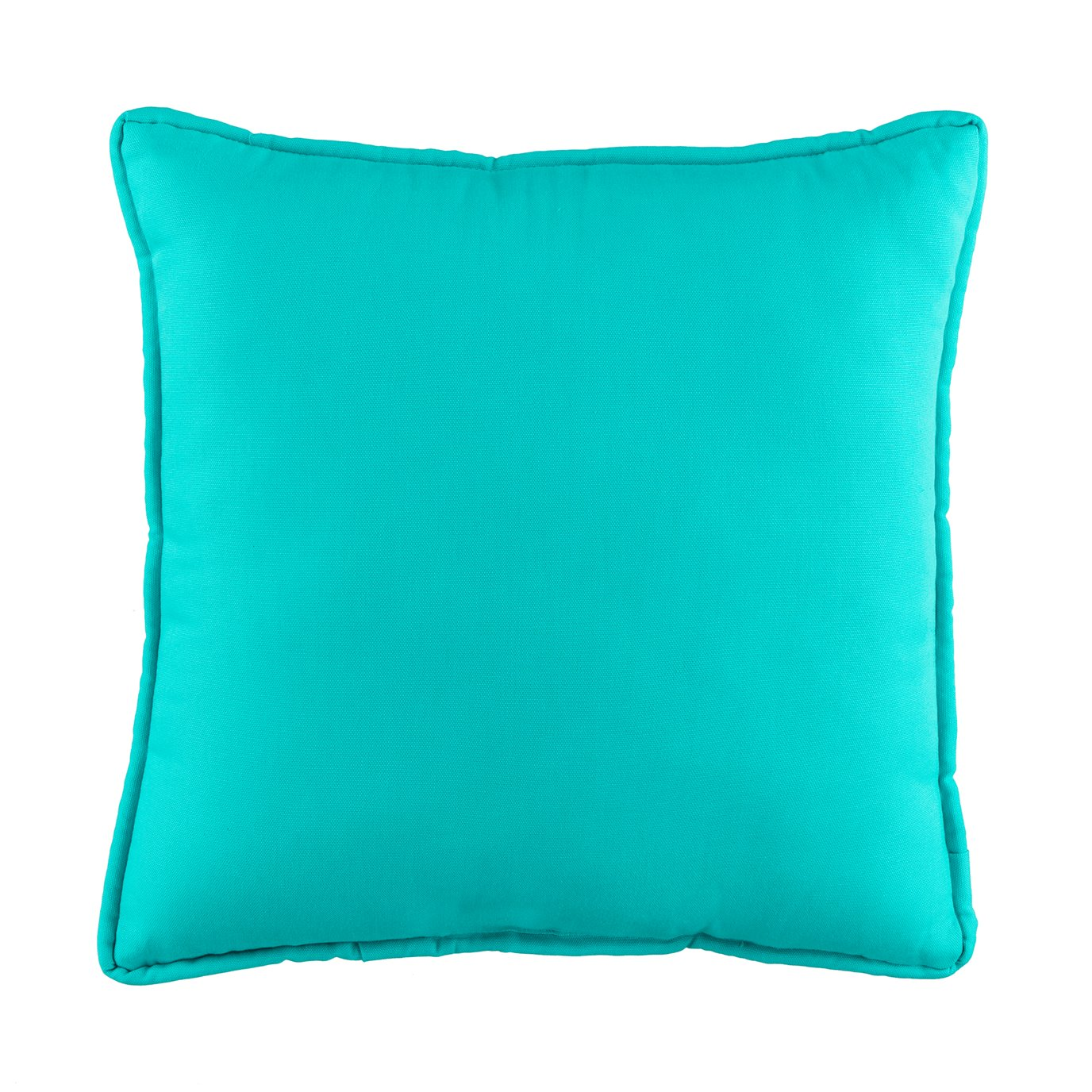 In the Sea Blue Square Pillow