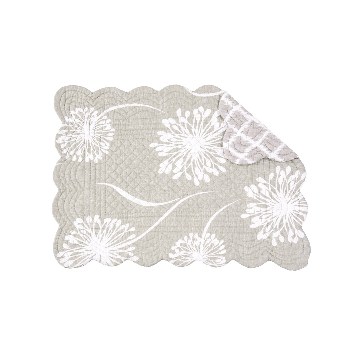 Guinevere Rectangular Quilted Placemat