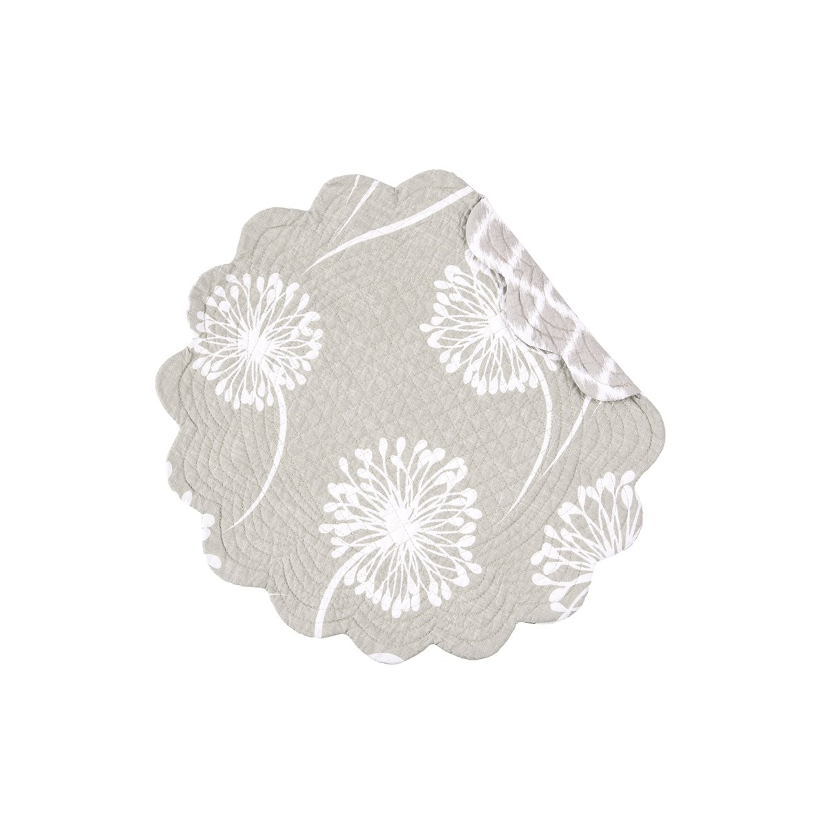 Guinevere Round Quilted Placemat
