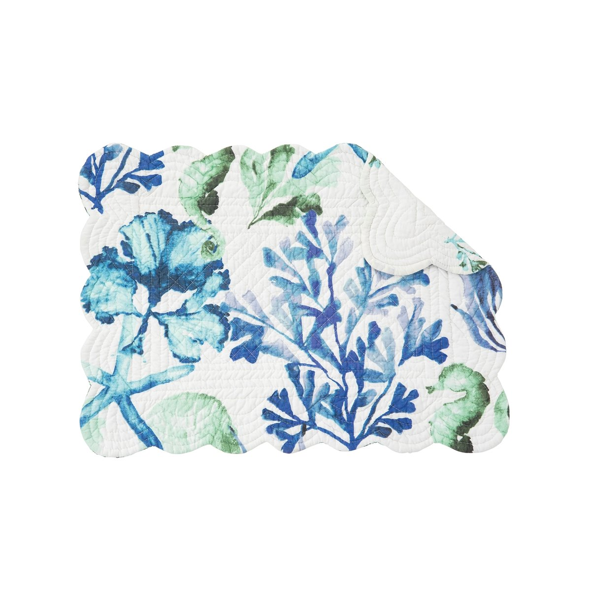 Bluewater Bay Rectangular Quilted Placemat