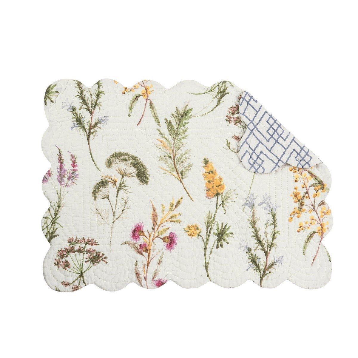 Genevieve Rectangular Quilted Placemat