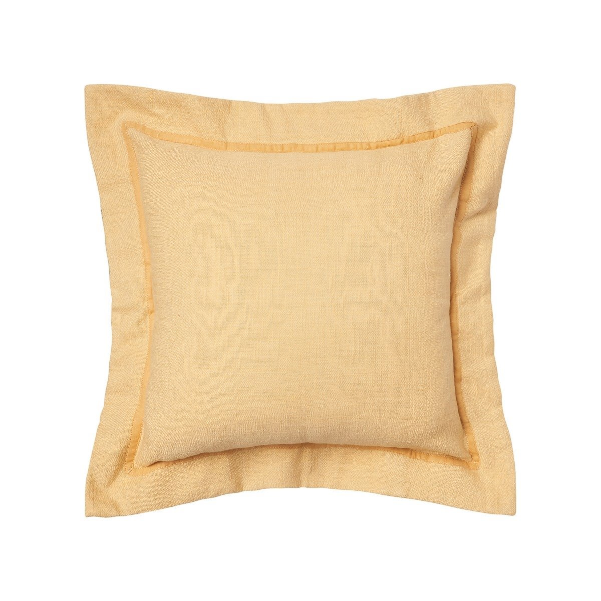 Cornsilk Flange Pillow