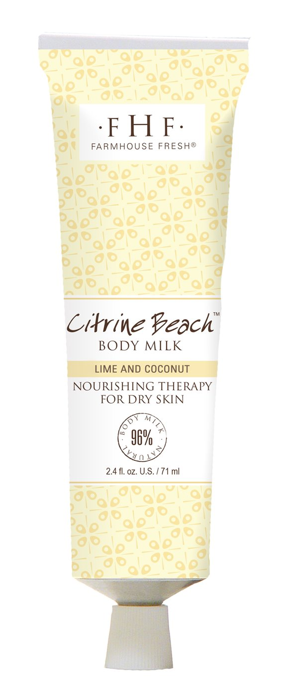 Farmhouse Fresh Citrine Beach Body Milk Travel Lotion (2.4 oz)