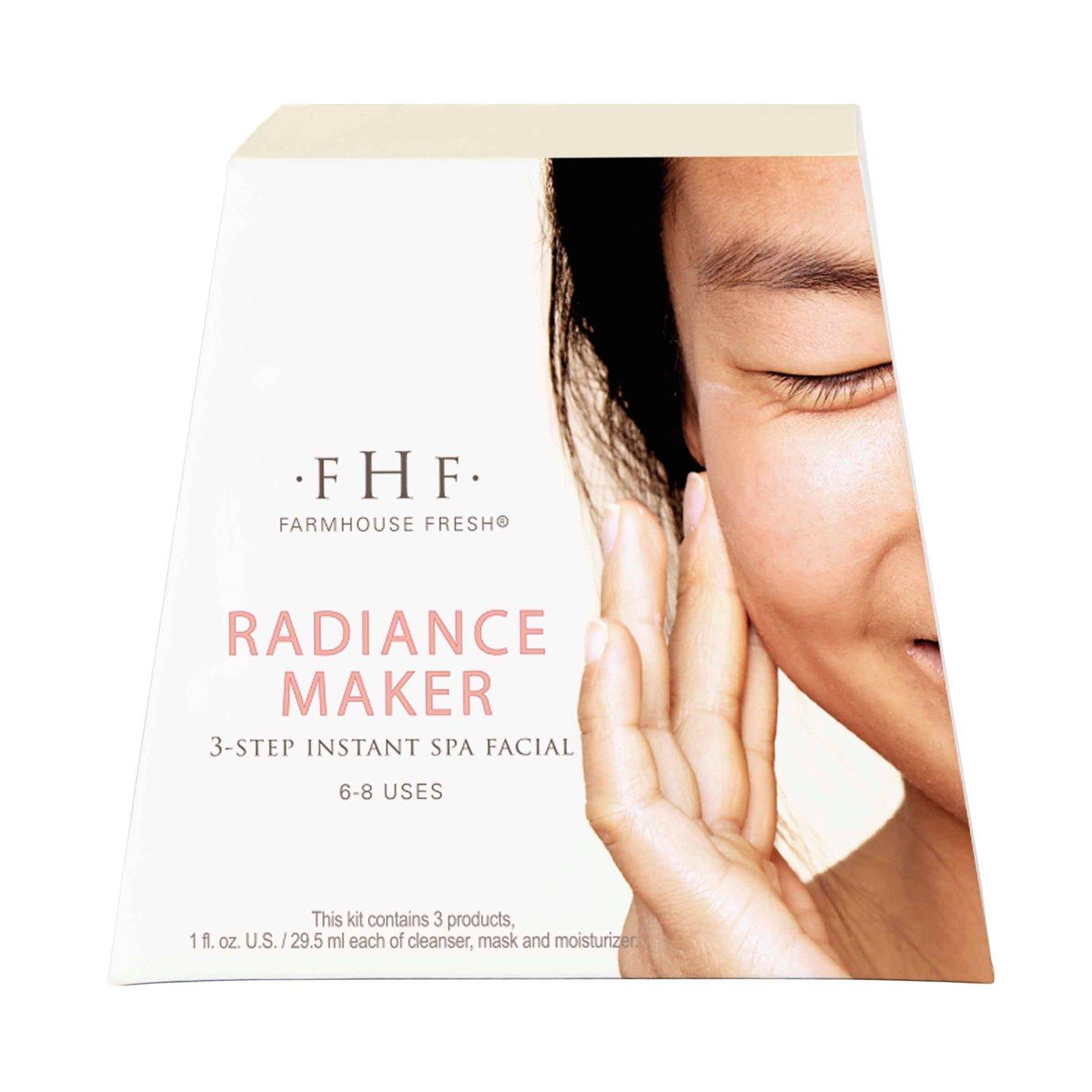 Farmhouse Fresh Radiance Maker Instant Spa Facial Kit
