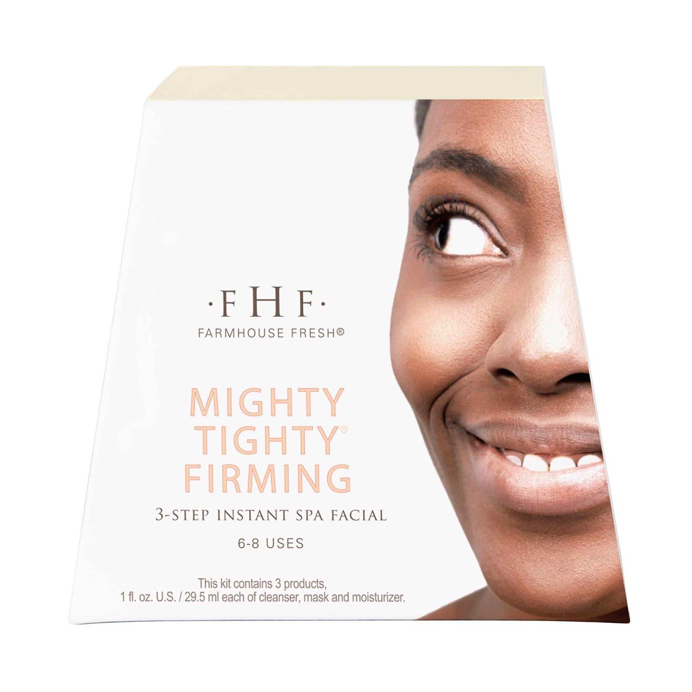 Farmhouse Fresh Mighty Tighty Firming Instant Spa Facial Kit