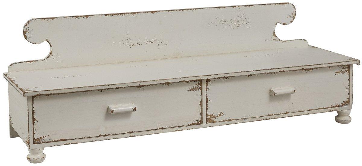 Counter Shelf Distressed White