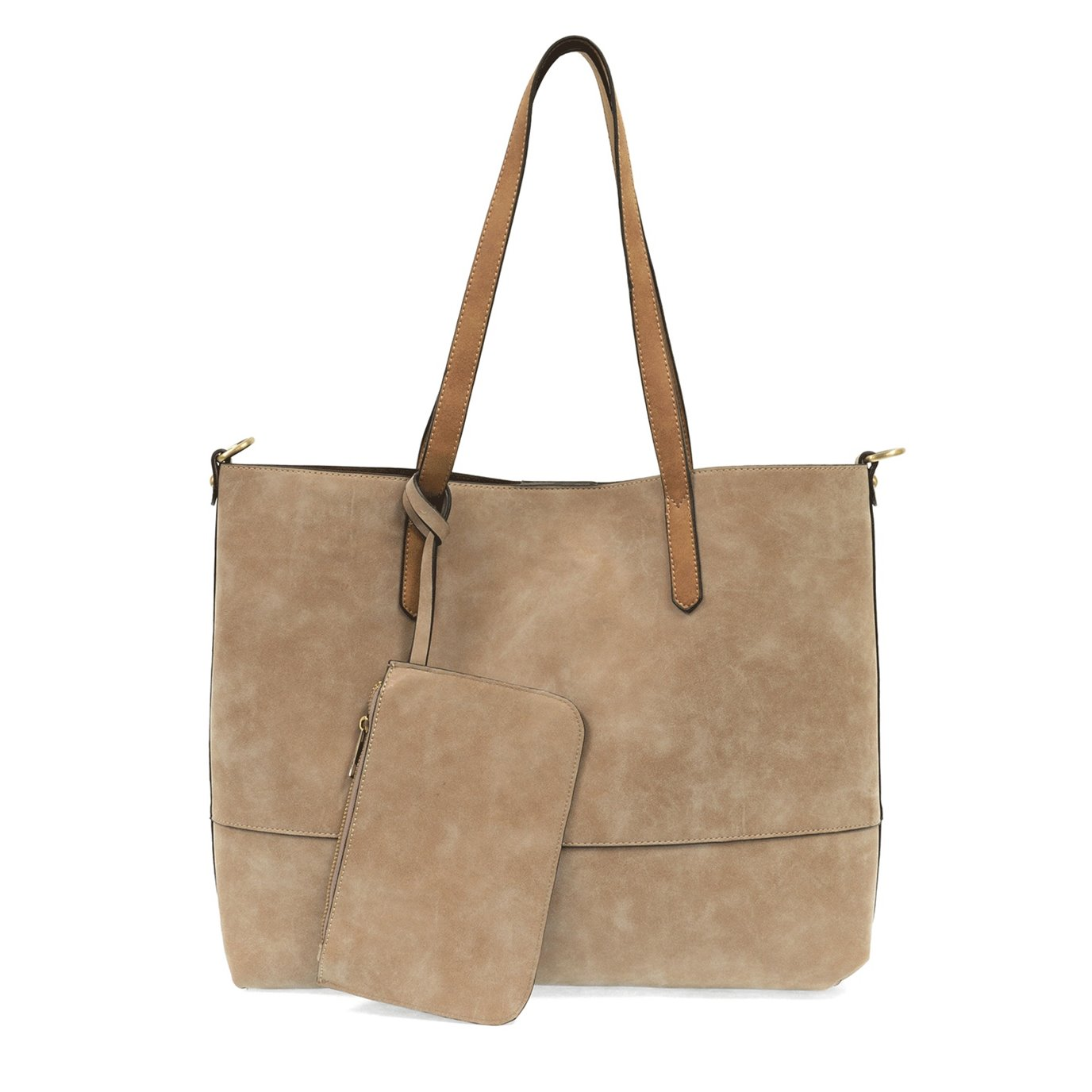 Brushed Sand 2-in-1 Tote