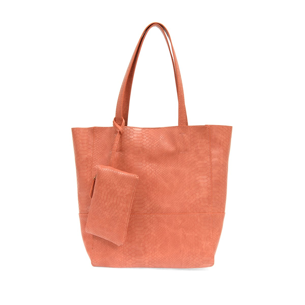 Coral Avery Python Tote Handbag