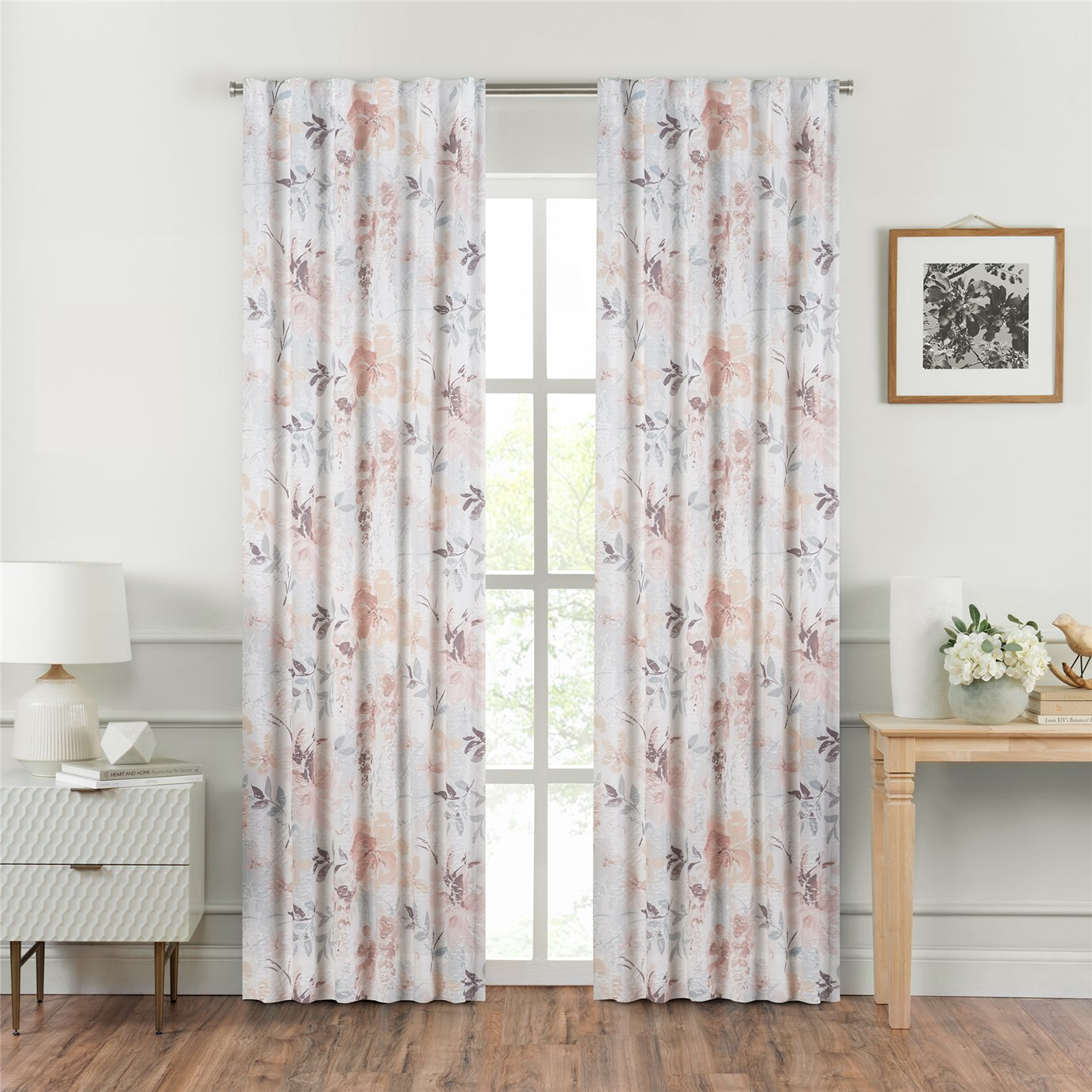 Croscill Liana Curtain Panel Pair 82x84