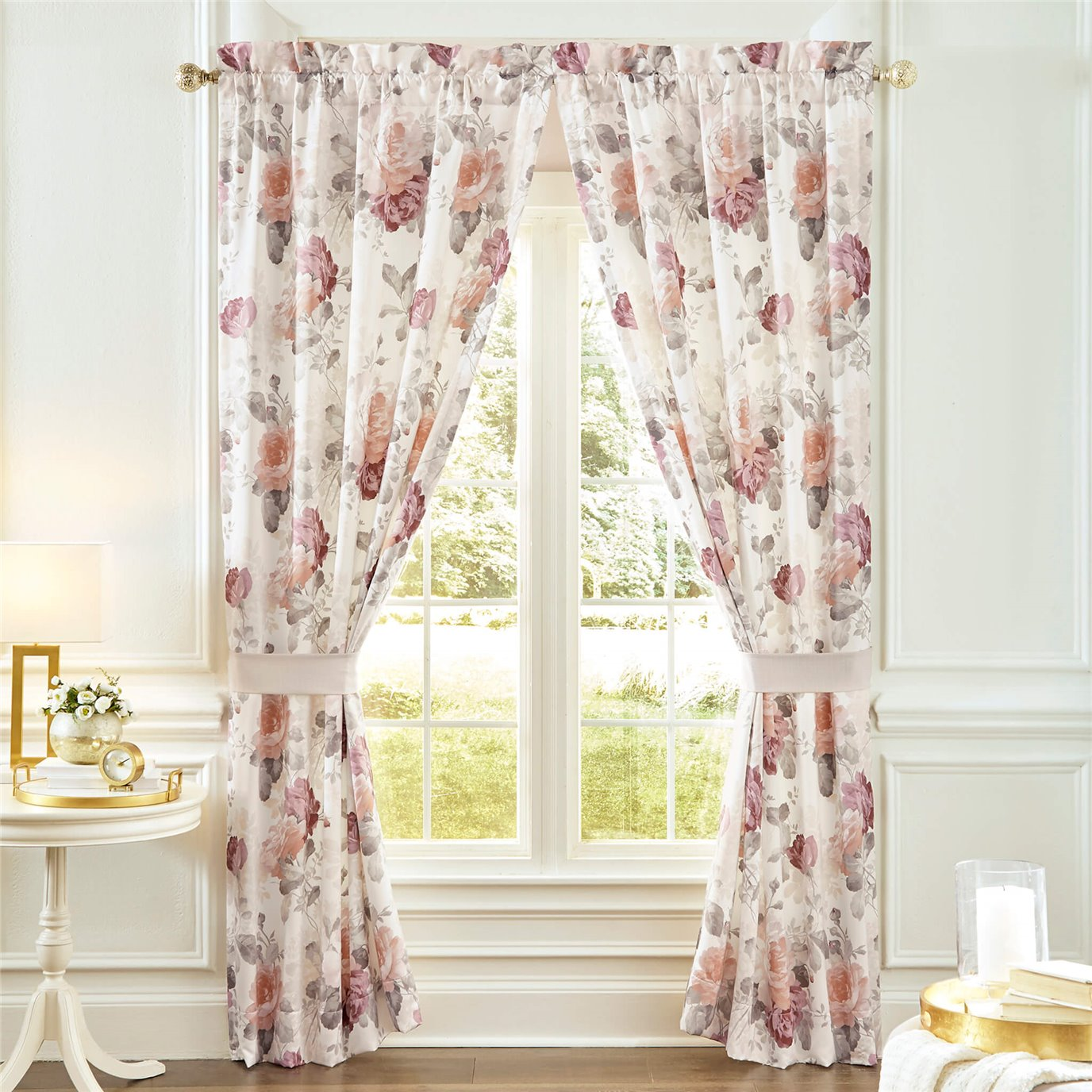 Croscill Bela Pole Top Drapery  82x84