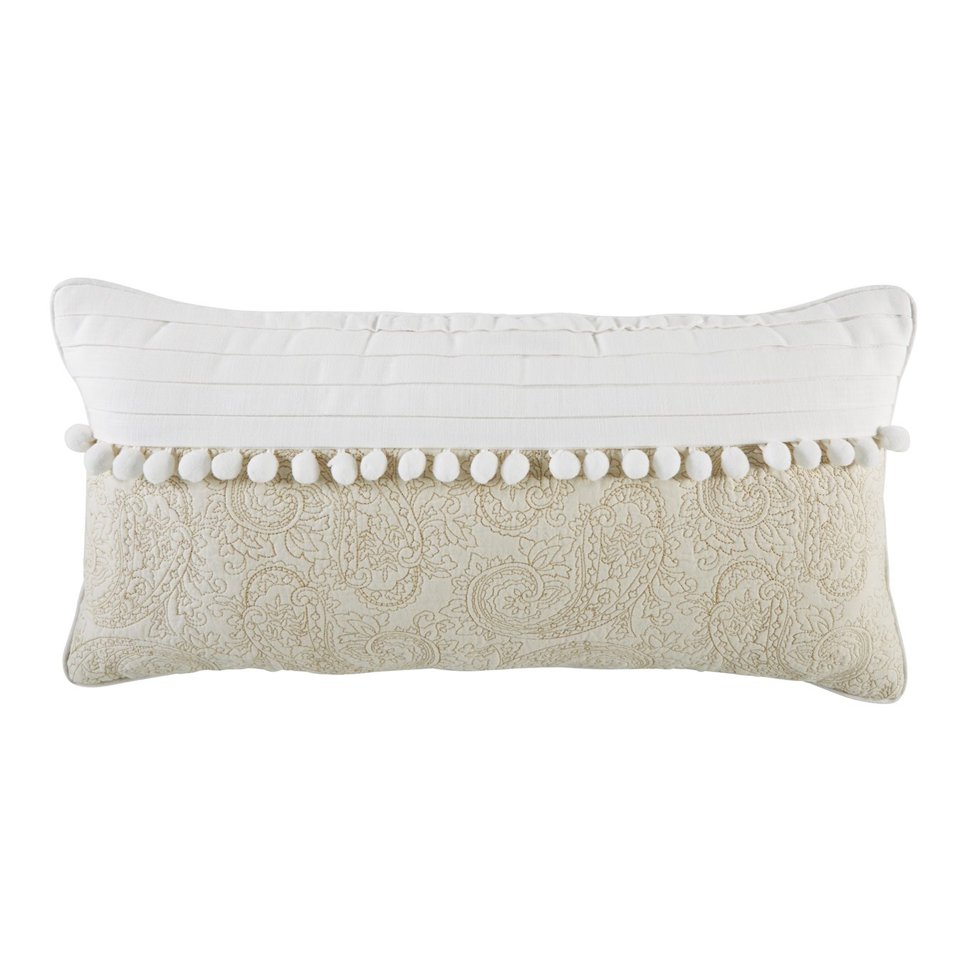 Croscill Cela Boudoir Pillow 22x11