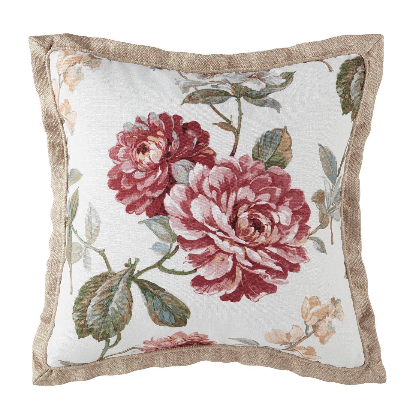 Croscill Fleur Square Pillow 18X18