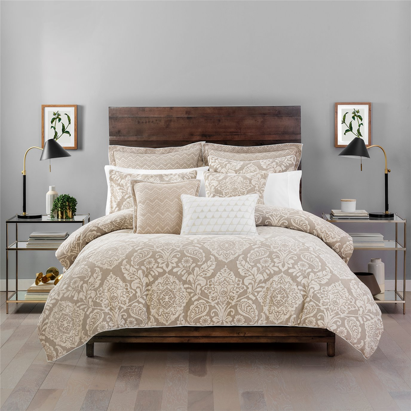 Croscill Grace Queen Comforter 3PC Set