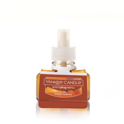 Yankee Candle Spiced Pumpkin Electric Home Fragrance Scent Plug Refill (Single)