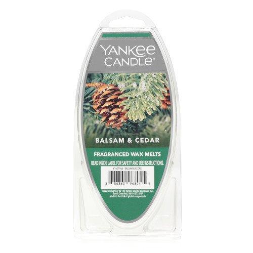 Yankee Candle Balsam & Cedar Wax Melts 6-Pack