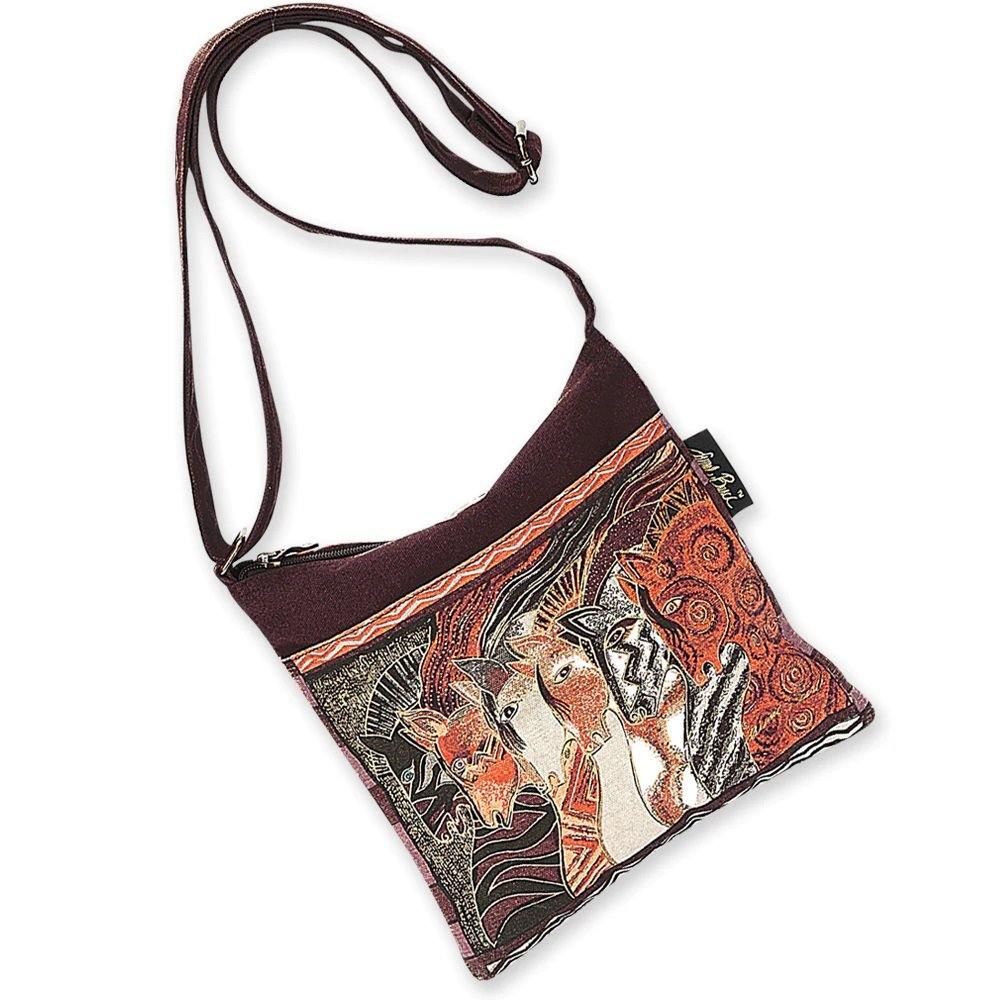 Laurel Burch Moroccan Mares Crossbody