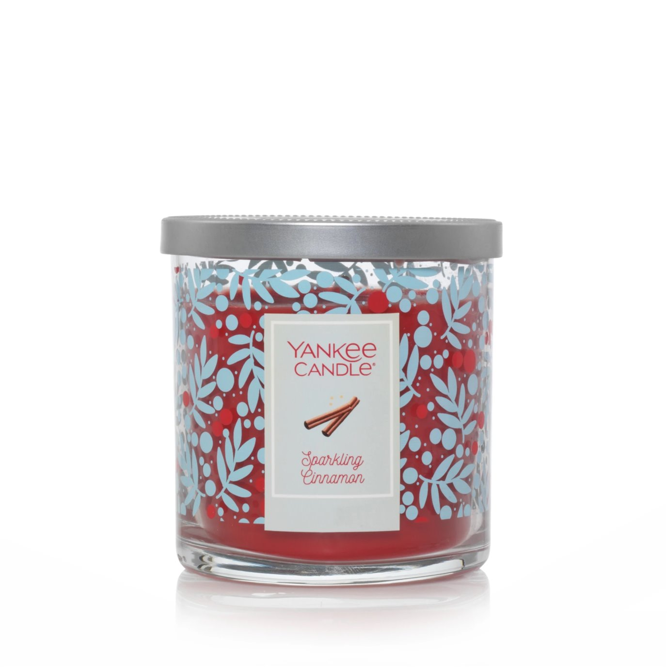 Yankee Candle Sparkling Cinnamon Regular Tumbler Candle Limited Edition Holiday Jar