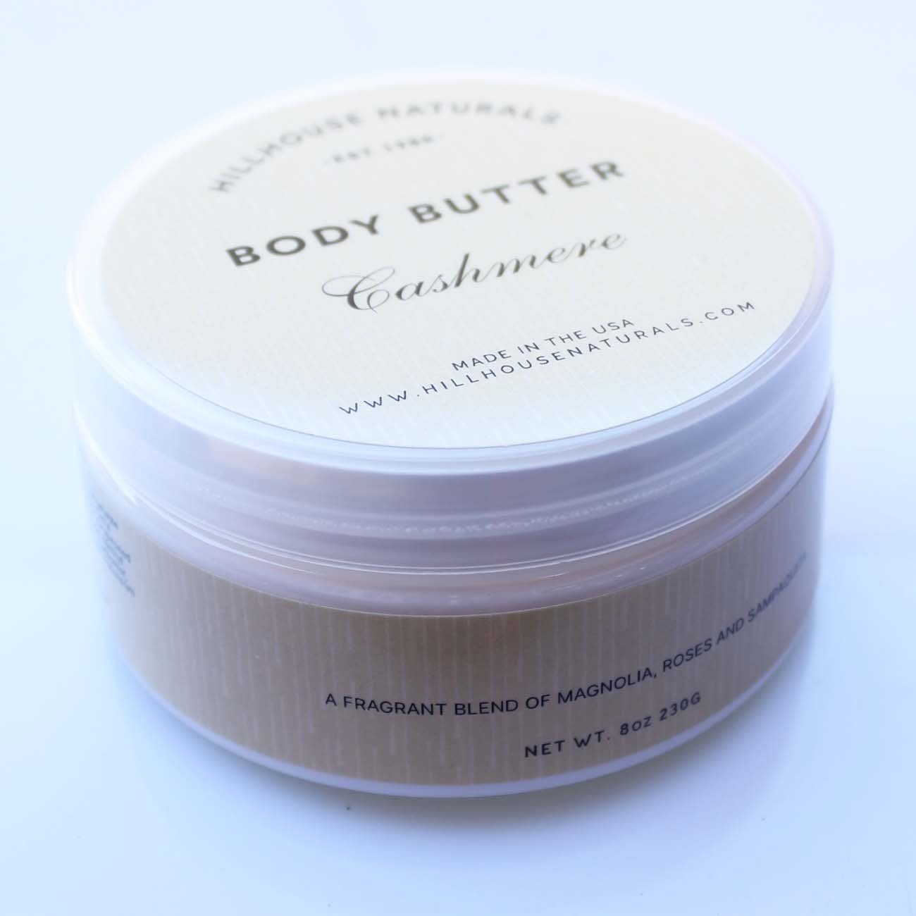 Cashmere Body Butter 8 oz by Hillhouse Naturals