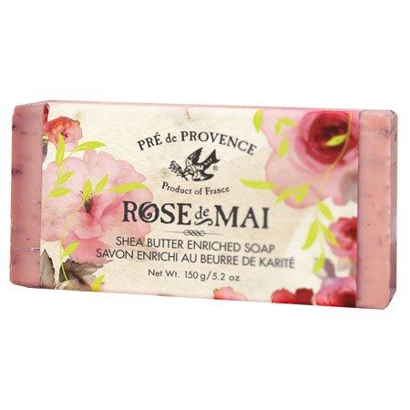 Pre de Provence Rose de Mai Shea Butter Soap