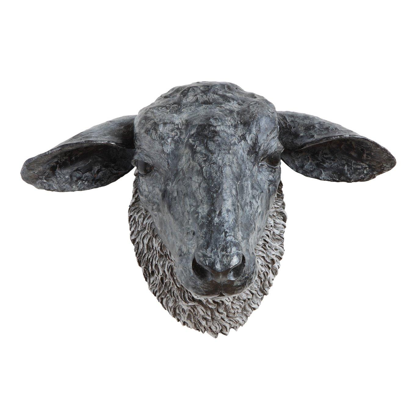 Sheep Head Wall Décor