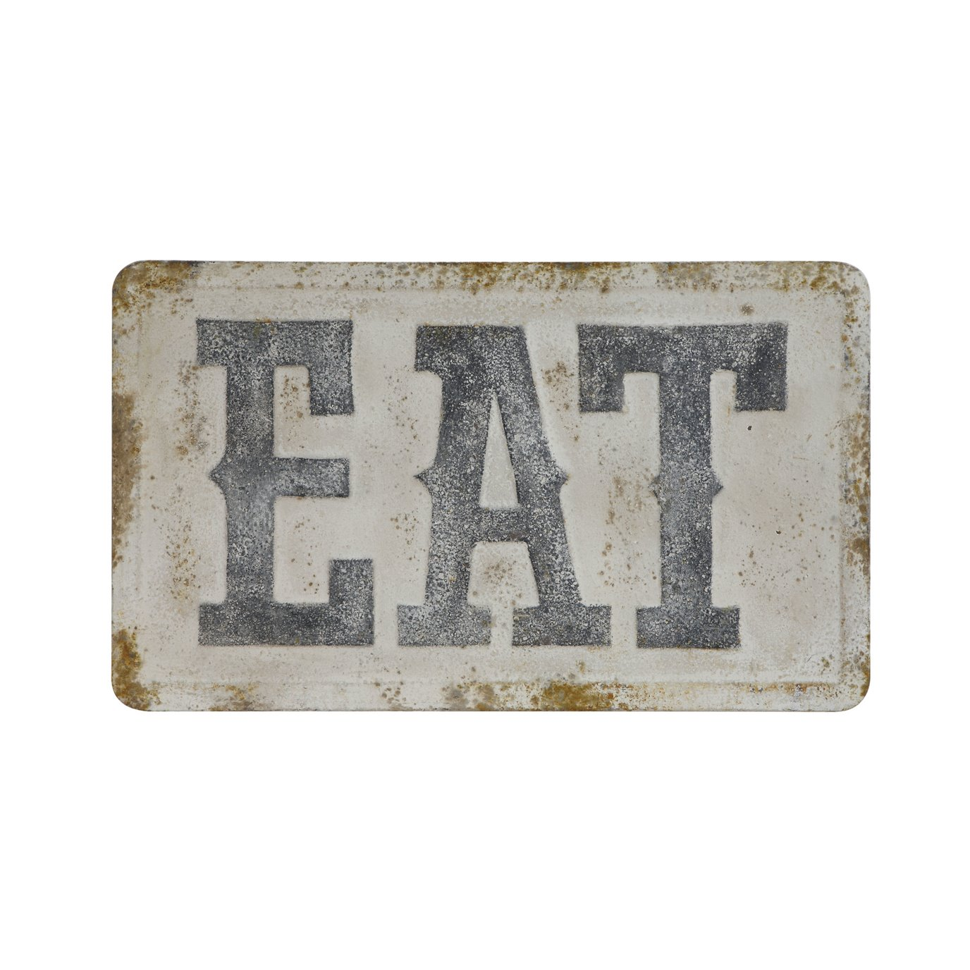 """EAT"" Metal Wall Décor"