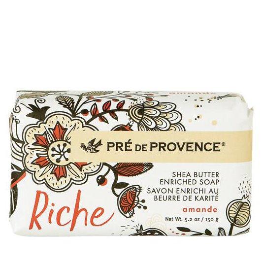 Pre de Provence Riche Amande Shea Butter Vegetable Soap 150 g