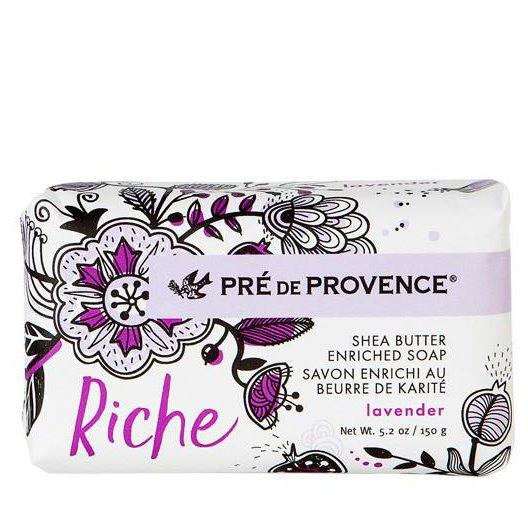 Pre de Provence Riche Lavender Shea Butter Vegetable Soap 150 g