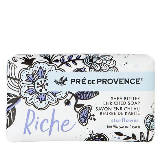 Pre de Provence Riche Starflower Shea Butter Vegetable Soap 150 g