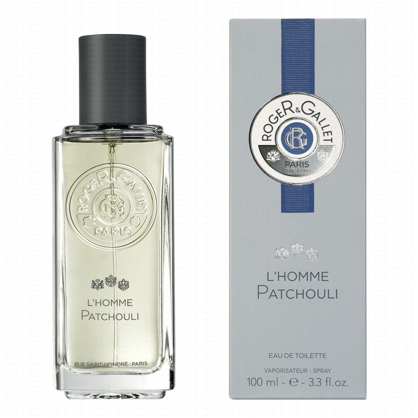 Roger & Gallet L'Homme Fragrant Patchouli Eau De Toilette Spray (3.3 oz - 100ml)