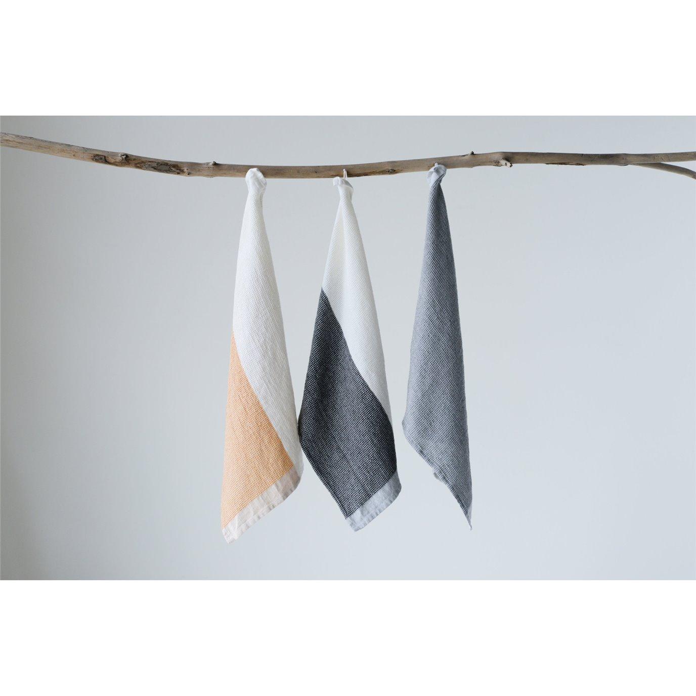 Cotton Tea Towels (Set of 3 Designs/Colors)