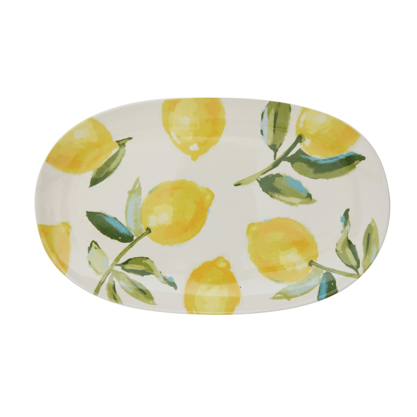 Platter with Lemon Images