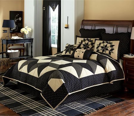 Carrington King 3 Piece Quilt Set