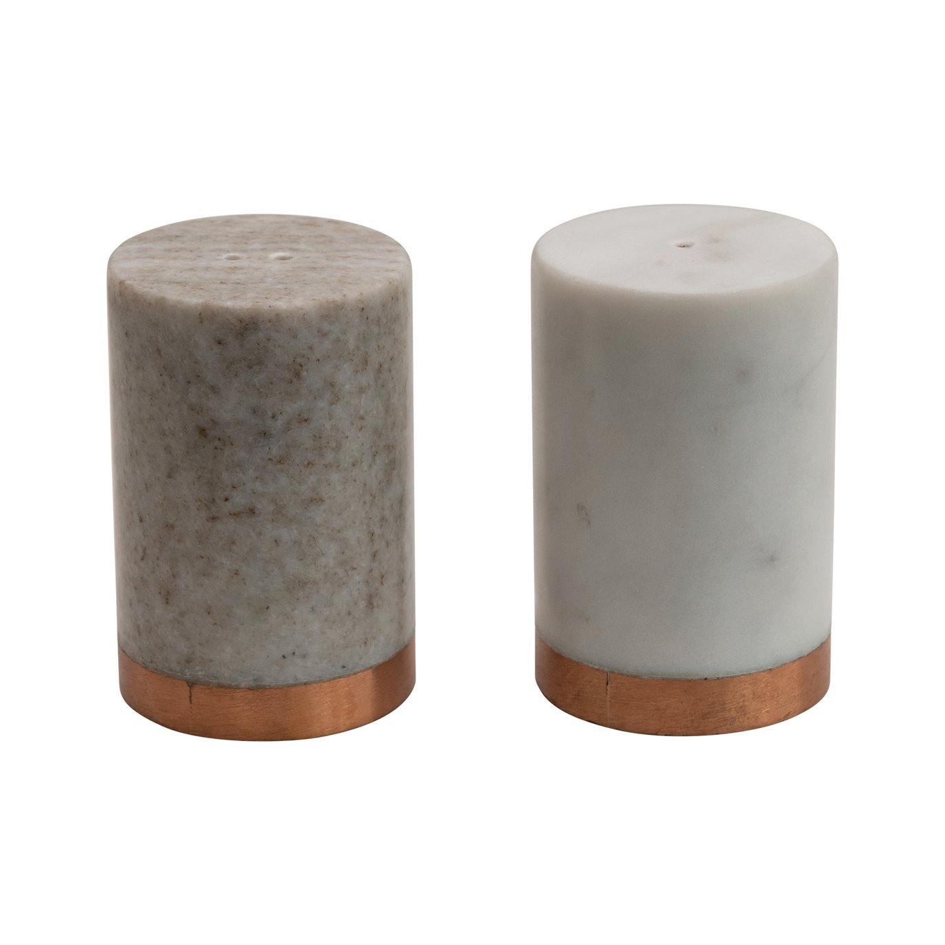 Marble Salt and Peper Shakers (Set of 2)